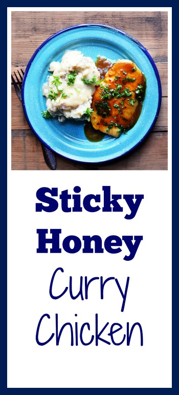 Sticky honey curry chicken: Get dinner on the table in 20 minutes. And make extra of this sauce!