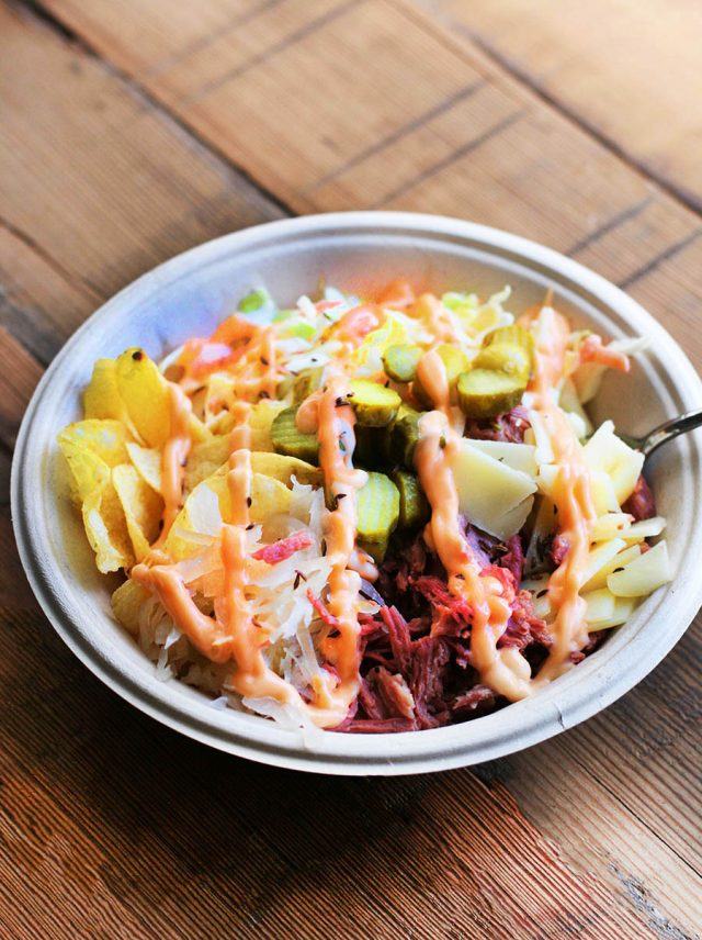 Reuben bowls: All the sandwich fillings, minus the bread. Get the recipe and make it yourself!