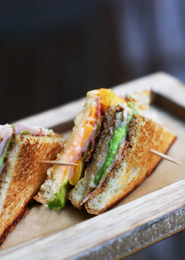 Learn how to make club sandwiches at home! Click through for recipe.
