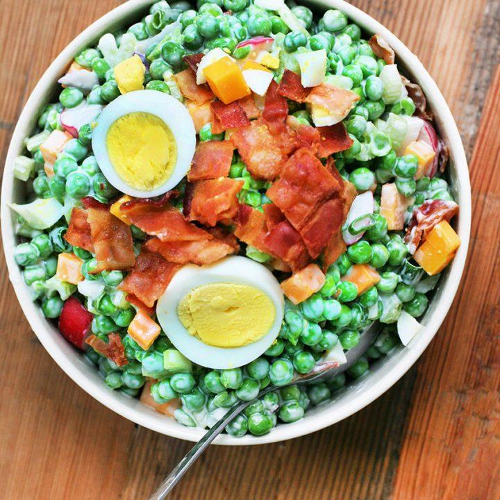 Kitchen Sink Pea Salad