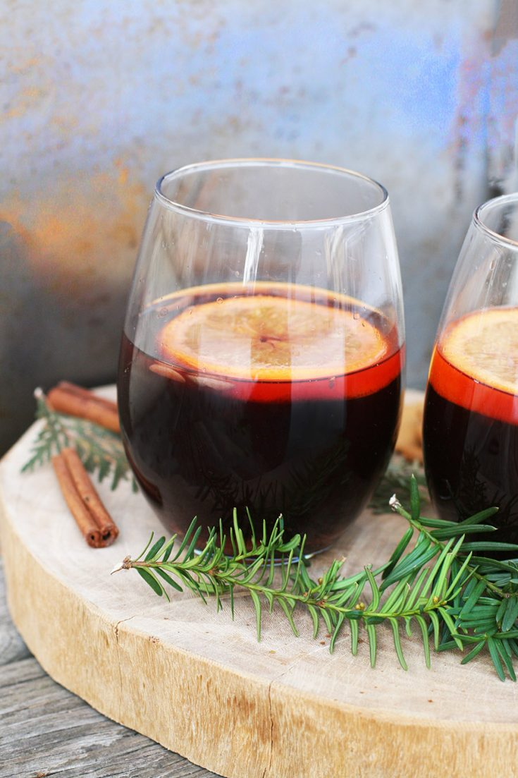 Non-Alcoholic Gløgg: A traditional Scandinavian drink. This version is made from juice, not wine, so the whole family can enjoy it!