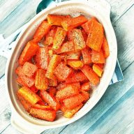 Buttery baked carrots: A super cheap recipe made with basic ingredients - that doesn't disappoint!