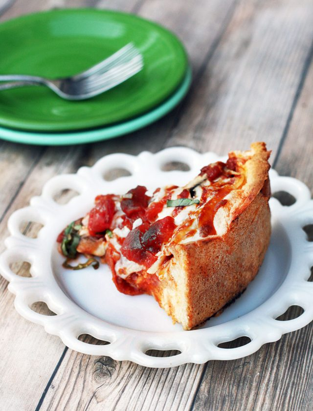 Homemade deep dish pizza at home: Learn how to make this much-loved Chicago-style pizza.