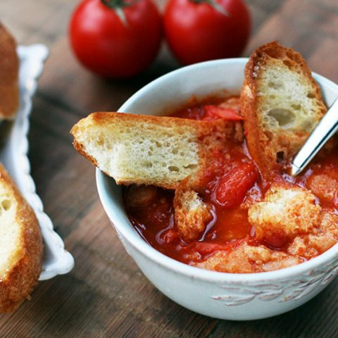 August Tomato Soup