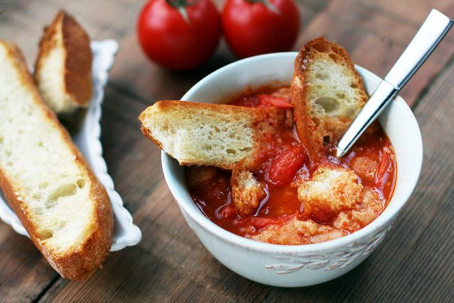 August tomato soup: The freshest summer tomatoes make for the best tomato soup!