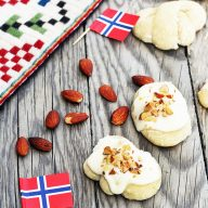 Norwegian kringla cookies: A classic cookie, perfect for Christmas!