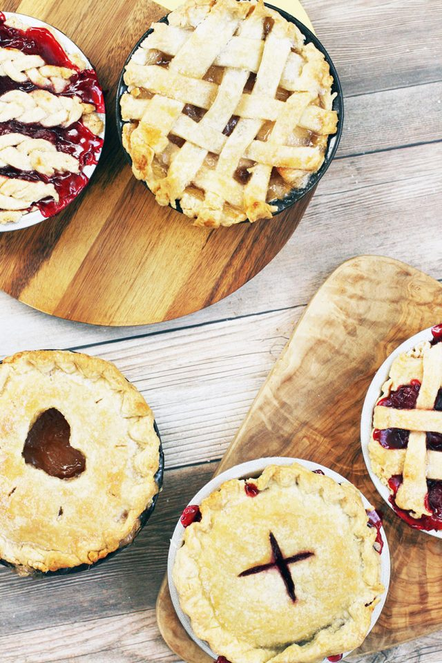 Mini pies: These single-serving pies are more fun to eat, and just as delicious. Learn how to make them!