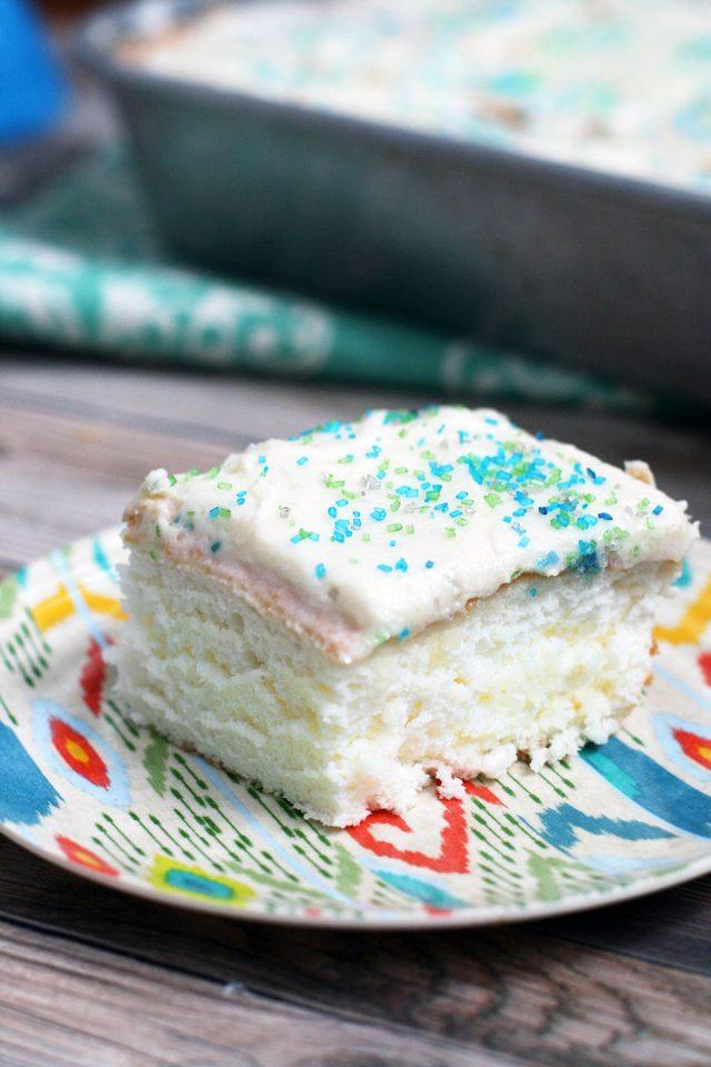 Mock angel food cake recipe