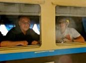 On the train to Mandalay (John's photo)