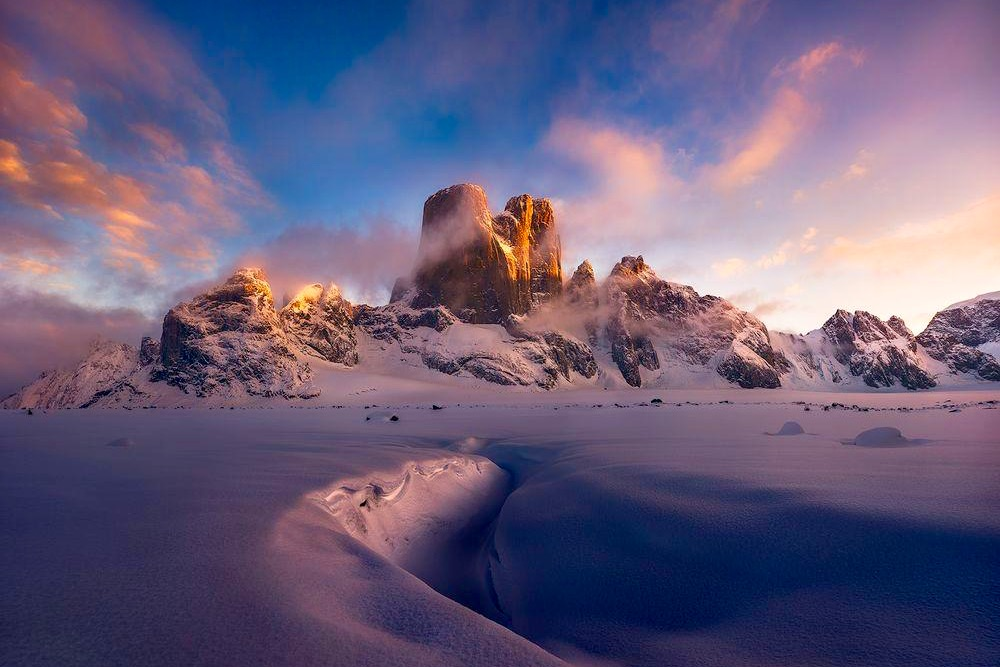 The fantastical Mt Asgard is one of the most beautiful mountains in the world