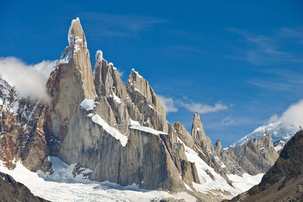 Cerro Torre is clearly one of the most beautiful mountains in the world