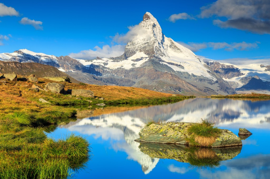 The iconic Matterhorn is one of the most beautiful mountains in the world