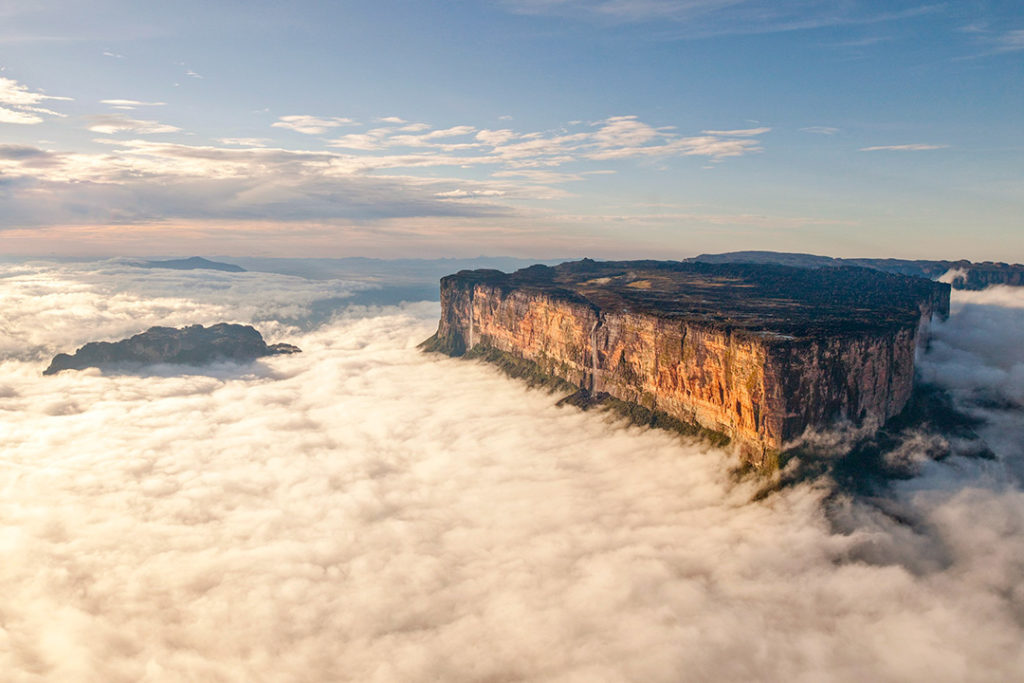 Roraima serves as a tripoint for Brazil, Guyana and Venezuela and is one of the most beautiful mountains in the world