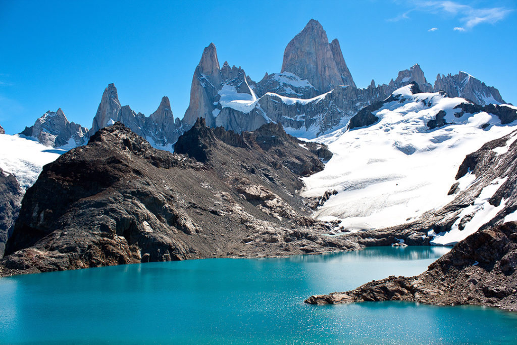 The imposing Fitz Roy is one of the most beautiful mountains in the world