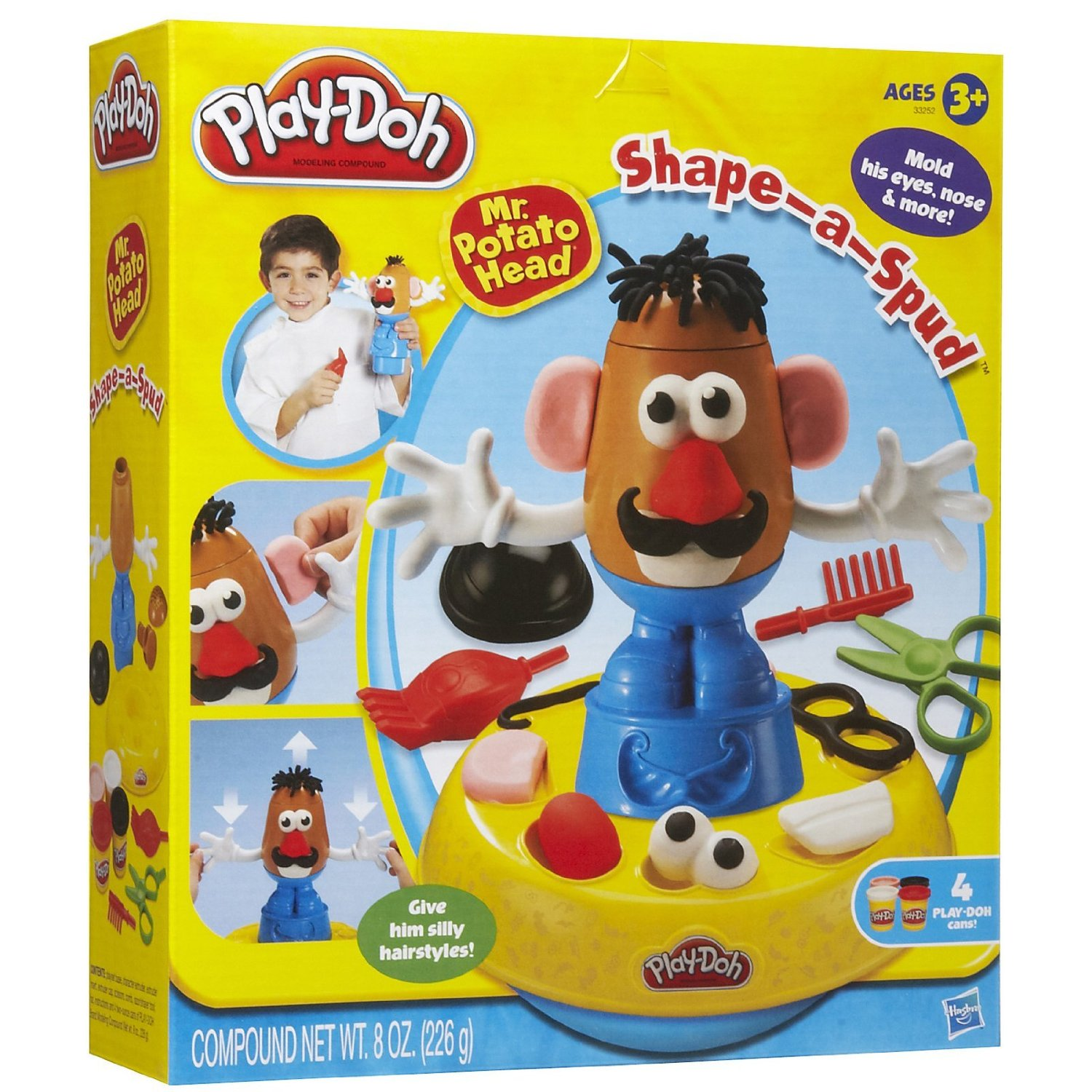Amazon Play Doh Mr Potato Head Shape A Spud Only 719 List Price