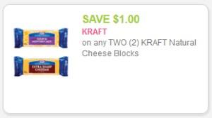 Kraft Cheese Blocks