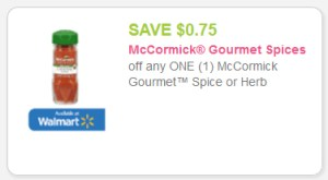 McCormick gourmet spices