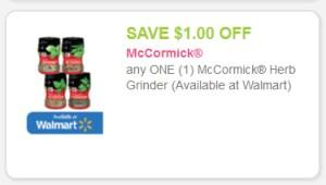 McCormick herb grinder