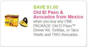 Old El Paso Avocados