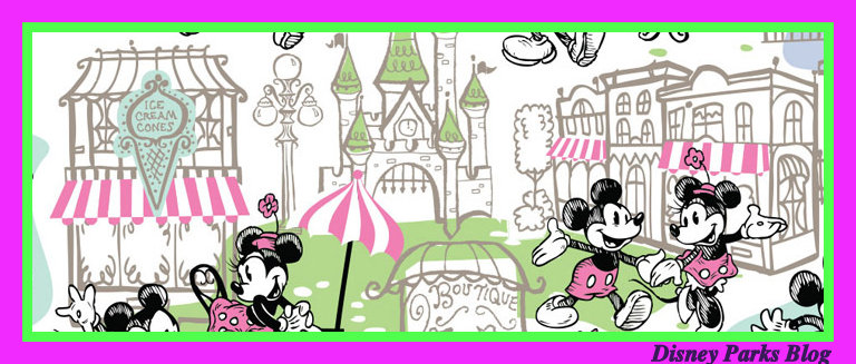 Disney World Mickey and Minnie Mouse artwork