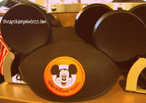 Mickey Mouse ears hat, photo of Mickey Mouse ears hat, Mickey Mouse Club logo, Mickey hat, Disney hat