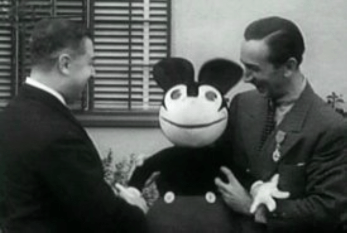 Mickey Mouse doll origins