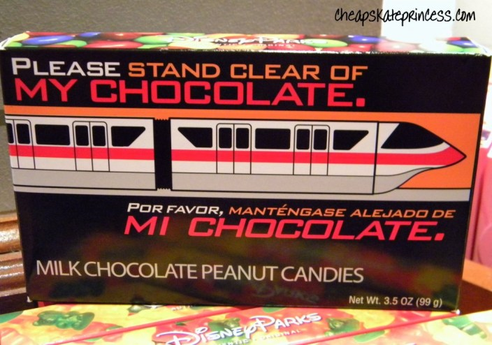 please stand clear of my candy, please stand clear of the doors, monorail candy, monorail chocolate