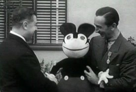Walt Disney and Mickey Mouse, Walt Disney and Charlotte Clark, how much do Mickey Mouse dolls cost? where can you buy Mickey Mouse dolls?