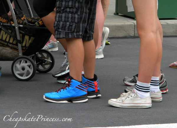 wear the right shoes on a Disney World vacation