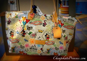 Dooney & Bourke purse, Disney bag, Disney luggage