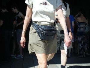 fanny pack at Disney, fanny pack, why carry a fanny pack, fanny packs are ugly, fanny packs are hideous