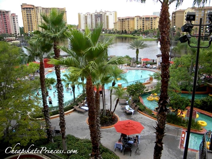 are the lazy rivers heated at Bonet Creek Resort Orlando, how many pools at Bonnet Creek Resort