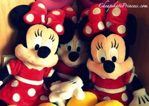 Disney gift shops, Minnie Mouse, Minnie Mouse dolls, Disney doll, Disney plush dolls, Minnie Mouse toys