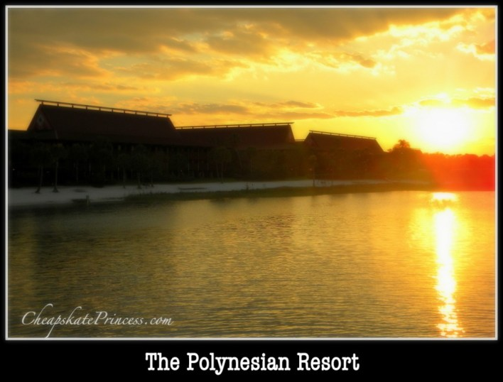 sunset at Disney, sunrise at Disney World, Polynesian Resort, Polynesian Resort photo