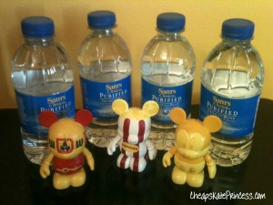water bottles, save money on water, bring water to Disney World, drink water at Disney World