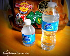 can you bring food into Disney parks, can you bring water into Disney parks, can you bring drinks into Disney parks,