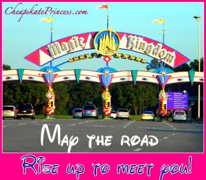 Magic Kingdom entrance sign, why you don't go to Disney during holidays, worst time at Disney, best time at Disney,