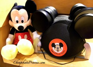 Mickey Mouse birthday hat, birthday at Disney, have a birthday at Disney, what can I get for my birthday at Disney, Disney World birthday button,