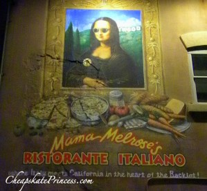 Mama Melrose's restaurant reservations, Italian food at Disney World,