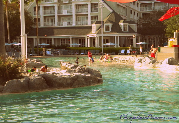 can you pool hop at Stormalong bay at Disney World