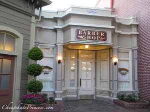adult haircuts at the harmony barber shop, how much are haircuts at Disney World