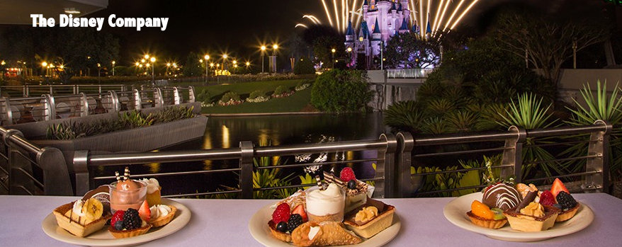 Disney Tomorowland Terrace Fireworks Dessert Party