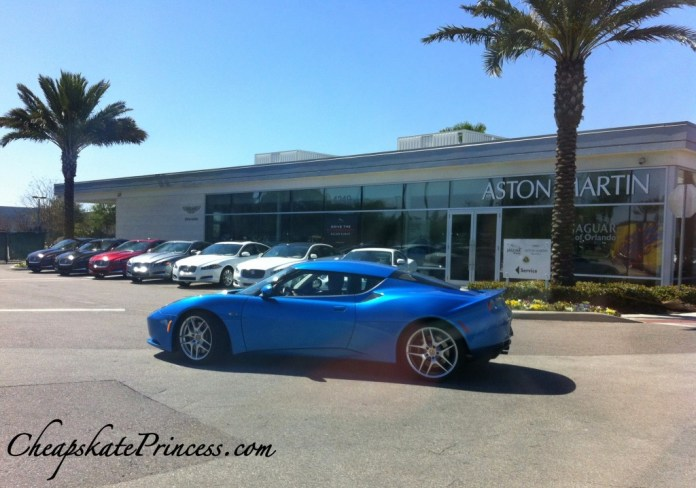 Lotus car dealership in Orlando