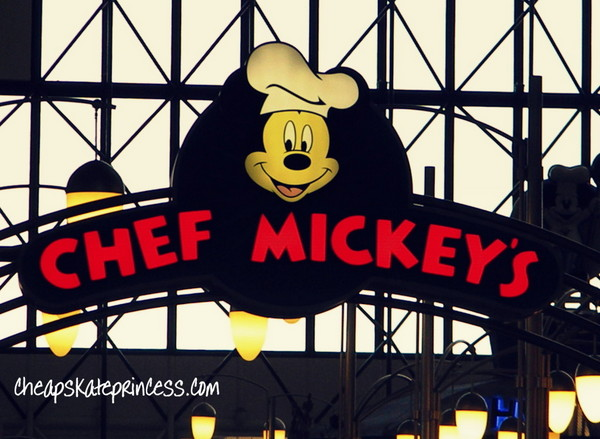 When to make Chef Mickeys reservations