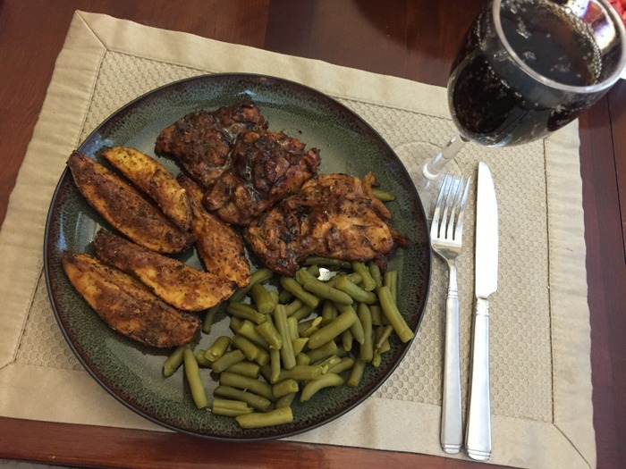 save money on vacation by cooking at home