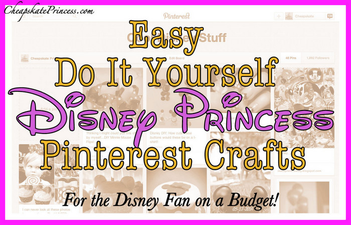 where to find do it yourself Disney World crafts