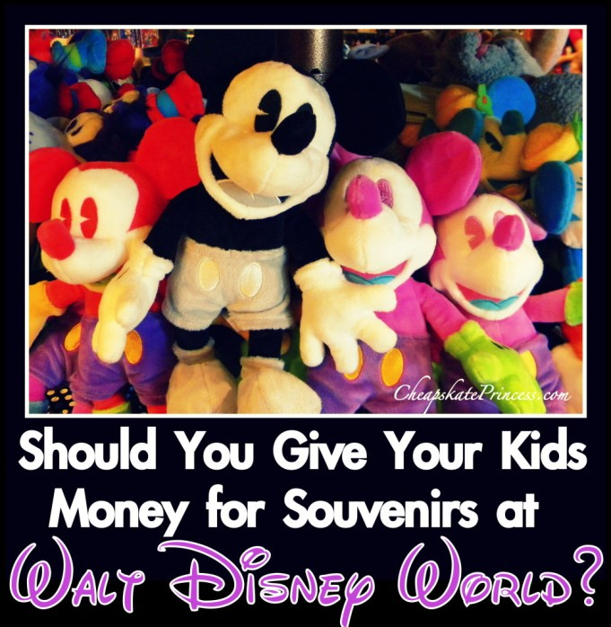 Money for Disney World