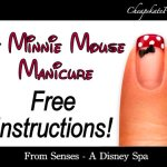 Do It Yourself Minnie Mouse Manicure Instructions for a Cheapskate Disney Princess
