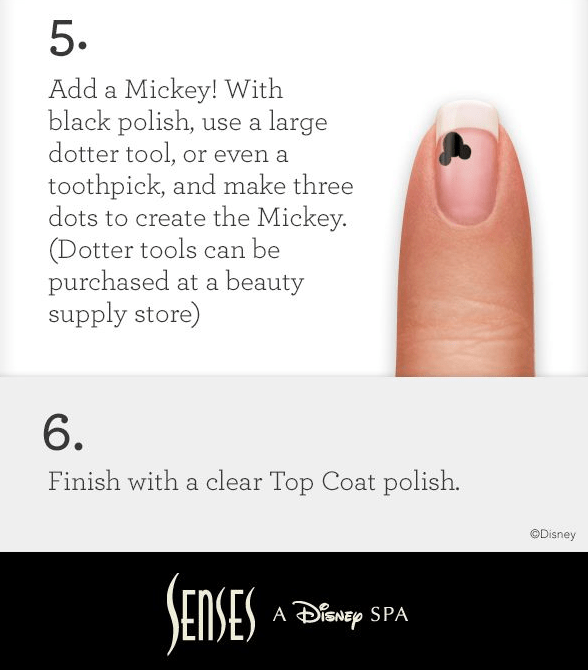 Mickey Mouse Manicure