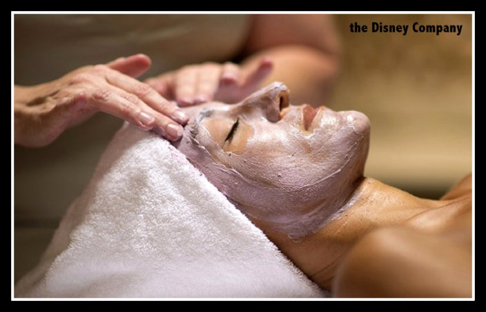 the cost of a facial at a Disney spa